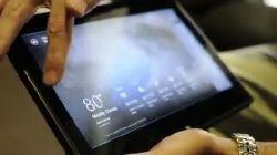 Toshiba'nın Windows 8'li tableti videoda