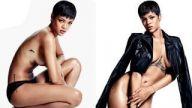 Rihanna GQ dergisi için soyundu!
