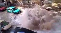 Doğal afet değil kanalizasyon patlaması
