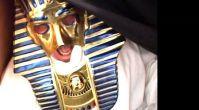 Firavun canlandı