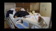 Tünel inşaatındaki göçükten yaralı kurtarılan Mustafa Çom - RİZE