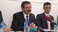 Tobb Başkanı Hisarcıklıoğlu, Çaycuma Ve Devrek'i Ziyaret Etti