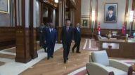 Cumhurbaşkanı Erdoğan, Mali Cumhurbaşkanı İbrahim Boubacar Keita'yla Görüştü