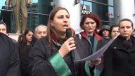 (görüntülü Haber) Eskişehir'de Kadın Avukatlardan Erkek Şiddetine Tepki