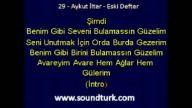 Aykut İlter Eski Defter Şarkısı Md Altyapısı Eski