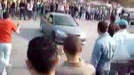 İzmir'de drift şovunda kaza !!