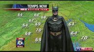 Batman hava durumu sunuyor -
