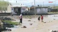 Ağrı'da binlerce ev su altında