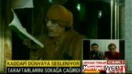 Kaddafi meydan okudu