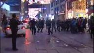 İstiklal Caddesi'nde döner bıçaklı kavga