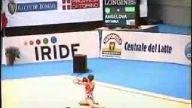Genç jimnastikci boyanka angelova dan inanılmaz gö