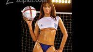 seksi kadın futbolcular