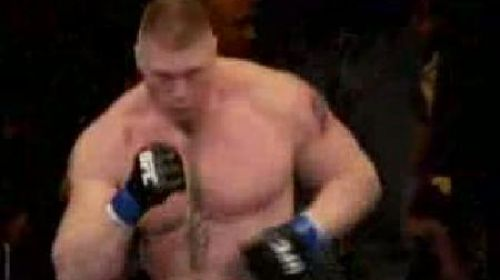 smackdown brock lesnar vs randy couture