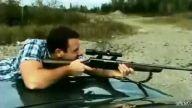 sniper atışı ! tepme etkisi !