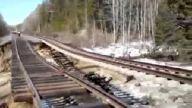 Tren Yolu Çöktü