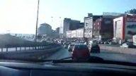 istanbulda drift ve sonrasında yaşanan kaza