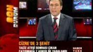 cizre'de çatışma 3 Şehit 12 yaralı