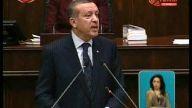 Başbakan Erdoğan kendini gülmekten alıkoyamadı....