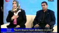 küfürbaz kadını kocası canlı yayında dövüyor