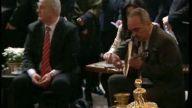Cumhurbaşkanı Kızlarağası Hanında Türkü Dinlerken