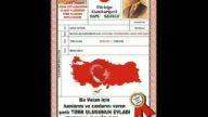 her türk asker doğar!