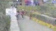 Bisiklet Yarışında Yanlış Yapanın Sonu..
