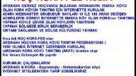 HOÇ-KORA-FED Ardahan hoçvan kora köyü tanıtım fede