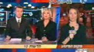 Kadın muhabire canlı yayında saldırı
