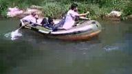 Abilerimiz Ağva Göksu Deresinde Rafting Yapıyor