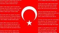 İstiklal marşı yarışması için hazırlanmış video