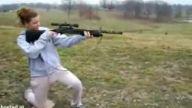 Kadın ve tüfek
