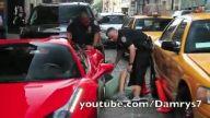 Dur ihtarına uymadı ama polis durdurdu