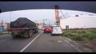 İlginç bir trafik kazası