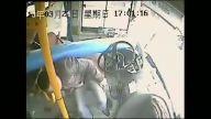 Otobüs sürücüsü ölümden döndü