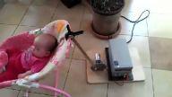 Mühendis babanın bebeği