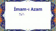 imam-ı azam (r.a)'ın cevabı