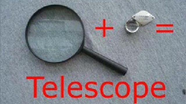 Фото телескопа своими руками