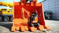 dunyanın en küçük ve en büyük excavatorü