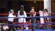 Oryantal Asena ve manken Ece Gürsel kickboks yaptı
