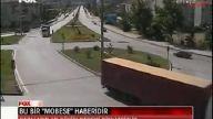 Mobese Kameralarına Takılan Trafik Kazaları