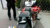 V12 450HP 700kg Chopper Motosiklet!