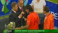 Ve Süper Kupa Galatasaray'ın müzesinde (Seramoni T