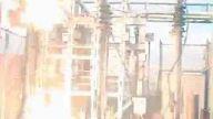 trafo merkezinde kabloların patlaması