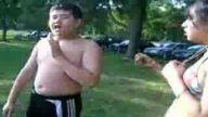 piknikte  abla kardeş kavgası