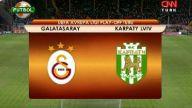 Galatasaray 2-2 Karpat   maç özeti