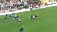 Lig maçında 8 gol atarak tarihe geçti