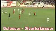 Boluspor 1-1 Diyarbakırspor maç özeti video 02 Eki