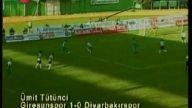 Giresunspor 1 Diyarbakırspor 1