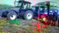 valtra ve mercedes kamyon 20 ton küsür yük
