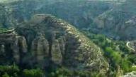 uşak'ta dünyanın 2. büyük kanyonunda ufo